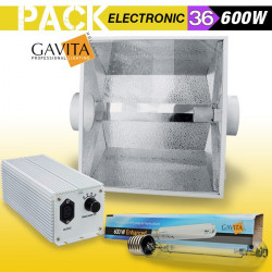 KIT ECLAIRAGE ELECTRONIC 600w GAVITA 36
