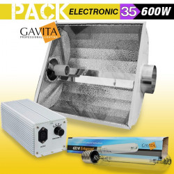 KIT ECLAIRAGE ELECTRONIC 600w GAVITA 35