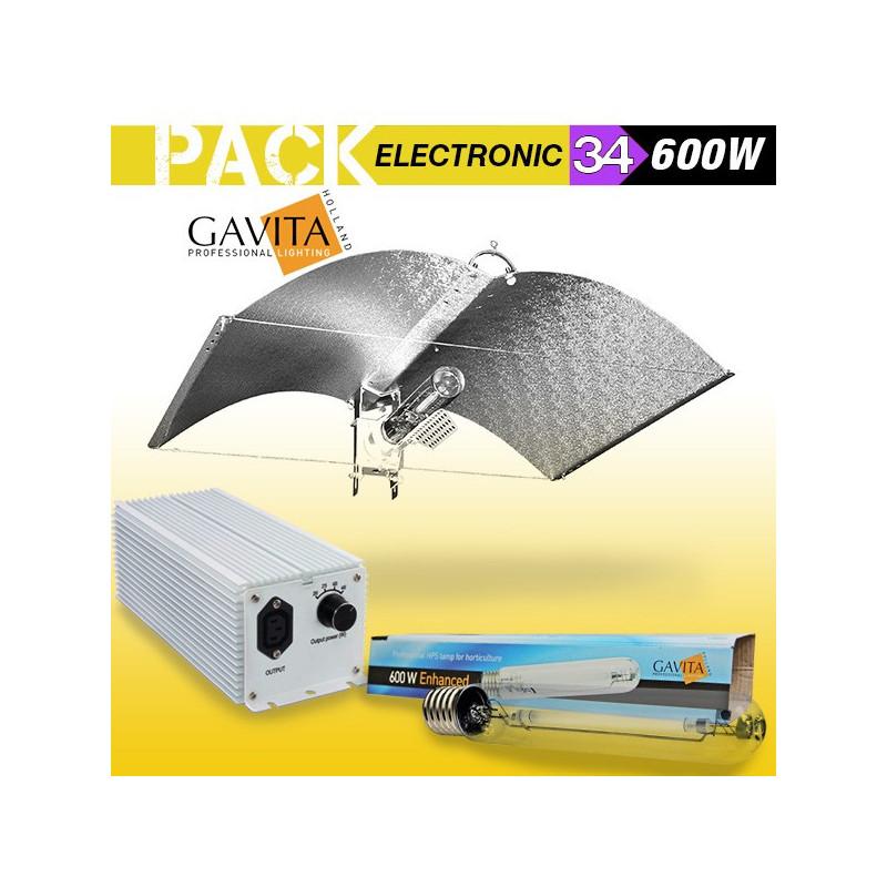 KIT ECLAIRAGE ELECTRONIC 600w GAVITA 34