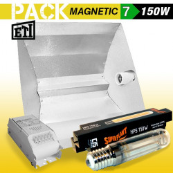 KIT Lampe HPS ETI 7 ECLAIRAGE MAGNETIC 150w