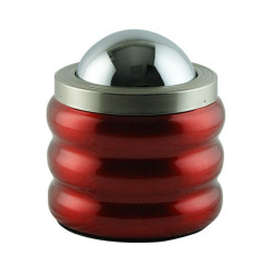 Cendrier design rouge Versace 12x15cm