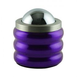 Cendrier design violet 12x15cm