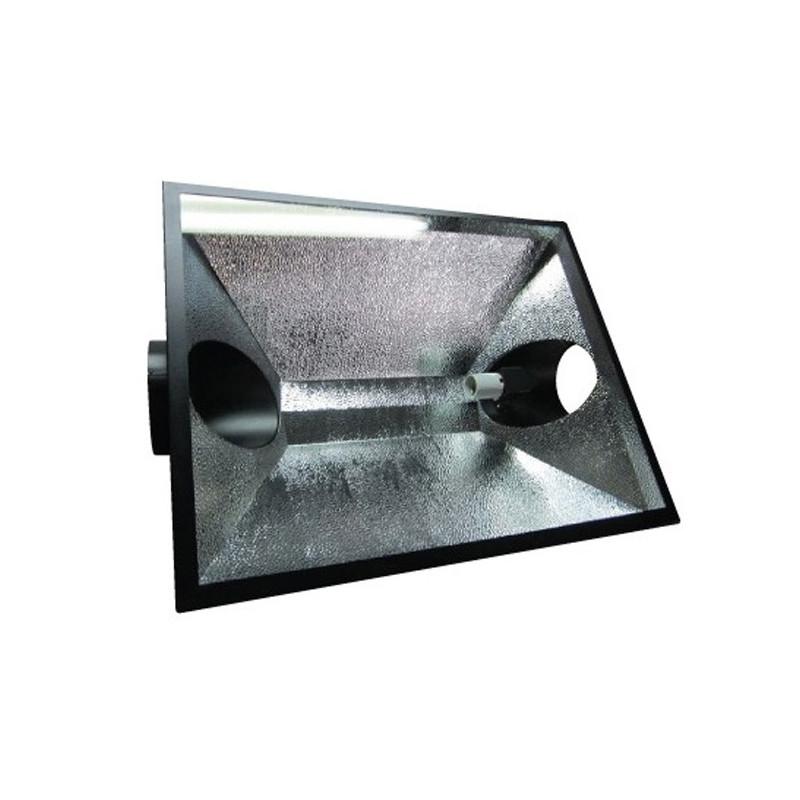 REFLECTEUR THE HOOD vitré ventilé 150mm 945x670mm , ,douille E40, pour hps ou mh 150 à 1000w