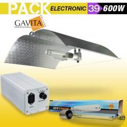 KIT ECLAIRAGE ELECTRONIC 600w GAVITA 39-ballast-reflecteur-ampoule