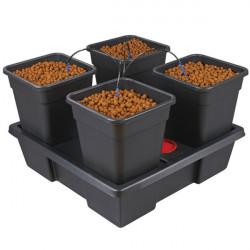 Nutriculture - Système Wilma Large 4 complet 18L , système hydroponique goutte à goutte