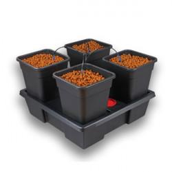Nutriculture - Système Wilma Large 4 pots 11L , système hydroponique goutte à goutte