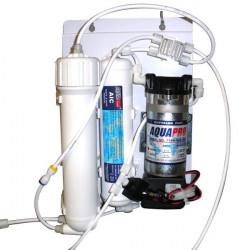Osmoseur AQUARIOPURE 190L/jour + pompe booster