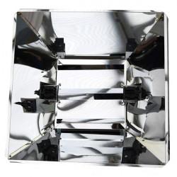 Lumatek - Réflecteur miroir pro pour ampoule Double Ended