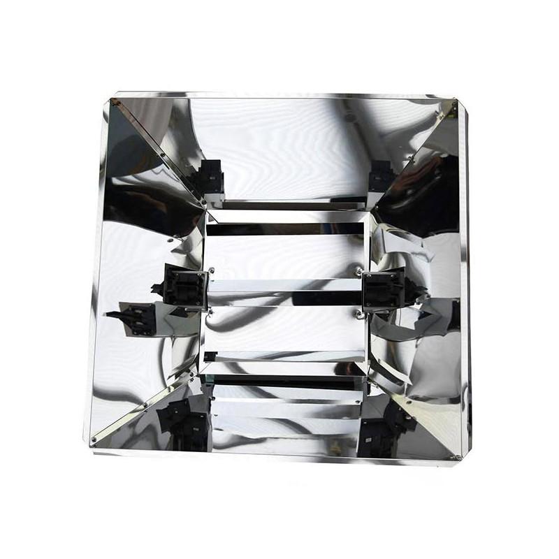 Lumatek - Réflecteur miroir pro pour ampoule Double Ended Lumatek ...