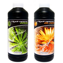 Engrais Hydroponic Grow et Bloom 1L , Platinium Nutrients -