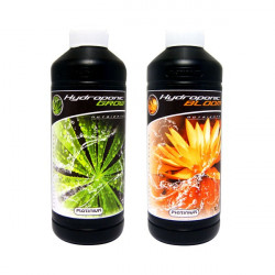 Engrais Hydroponic Grow et Bloom 500ml,Platinium Nutrients -
