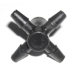 irrigation , arrosage Manifold Black Spider 4 sorties 3/5mm