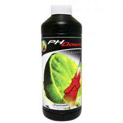 Engrais Acid pH Down 75% phosphorique 500ml , abaisse le ph Platinium Nutrients -