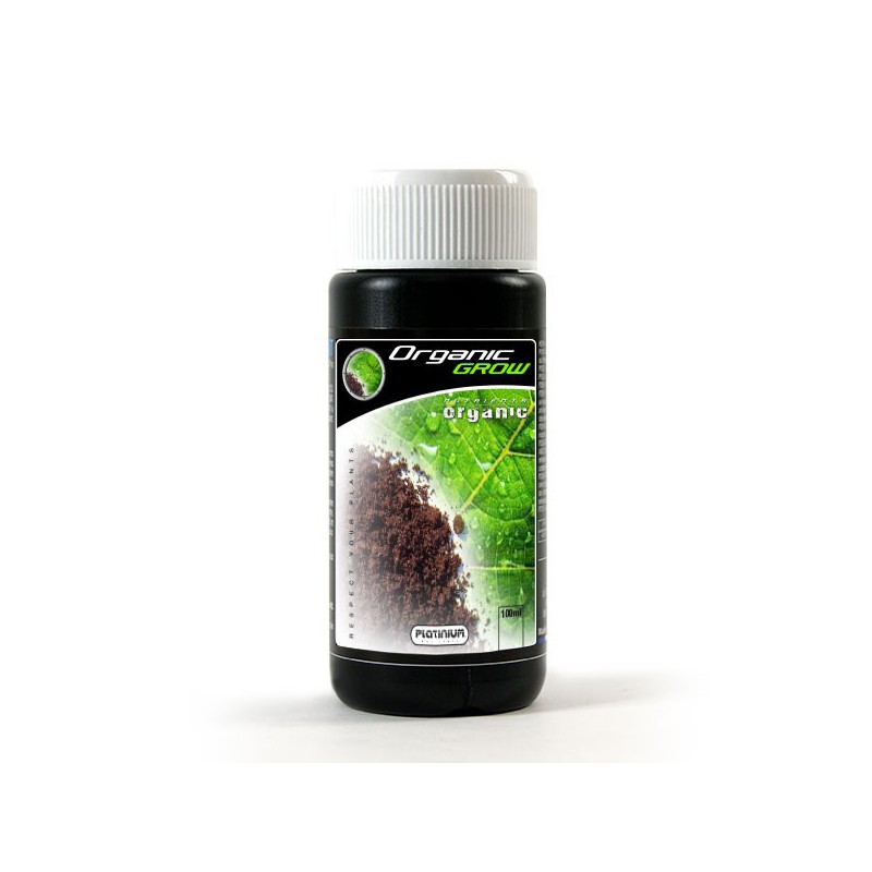platinium organic grow 100ml engrais de croissance biologique platinium nutrients 5 90. Black Bedroom Furniture Sets. Home Design Ideas