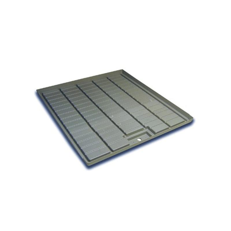 Staal Plast - Table de récupération grise 108X100X4cm