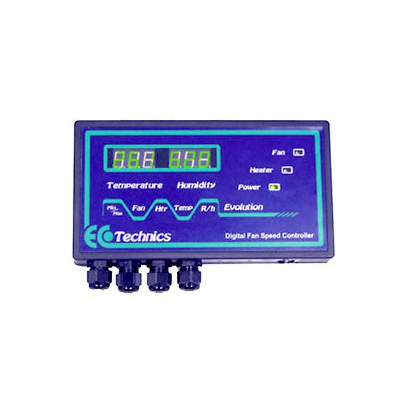 controller evolution temperature & humidité , pour extracteur d'air