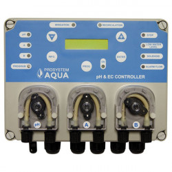Prosystemaqua - Instruments - Contrôleur PH et EC et remplissage automatique et régulateur