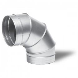 Winflex - Angle métal 90°C Ø150mm , conduit ,gaine de ventilation