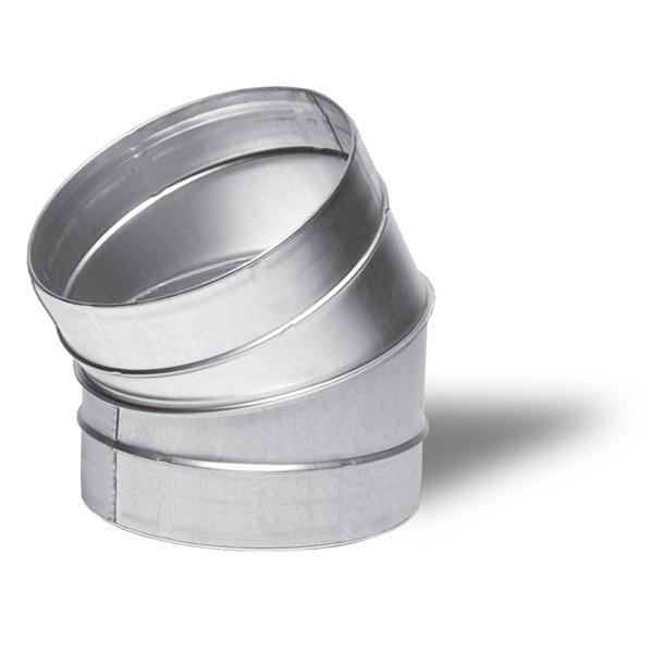 Winflex - Angle métal 30°C Ø150mm , conduit ,gaine de ventilation