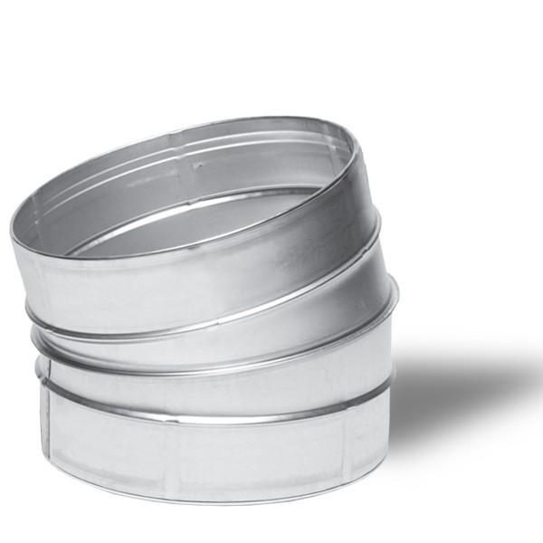 Winflex - Angle métal 15°C Ø150mm , conduit ,gaine de ventilation