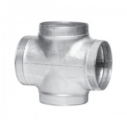 Winflex - Cross-T Ø125mm , conduit ,gaine de ventilation