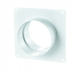 Winflex - Flange carré Ø100mm , conduit ,gaine de ventilation