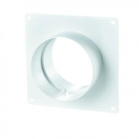 Winflex - Flange carré Ø100mm , conduit ,gaine de ventilation