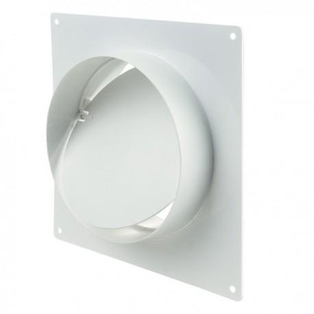 Winflex - Flange carré Ø100mm anti-retour , conduit ,gaine de ventilation