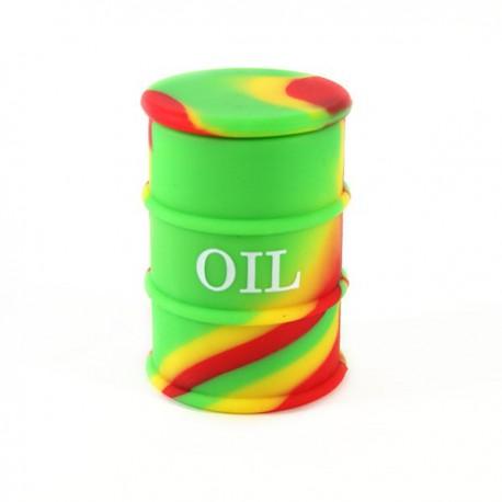 Fut silicone Ø4.2cm vert/jaune /rouge