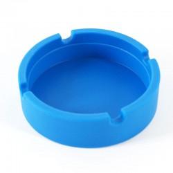 Cendrier silicone Ø 83 mm bleu