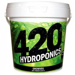 420 Hydroponics - GrowVeg 250g powder , engrais de croissance , terre , hydro , coco