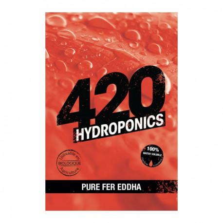 420 Hydroponics - Pure Fer EDDHA Inductor 25g , engrais de fer