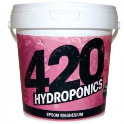420 Hydroponics - Epsom Magnesium 1Kg , régule les carences en magnésium