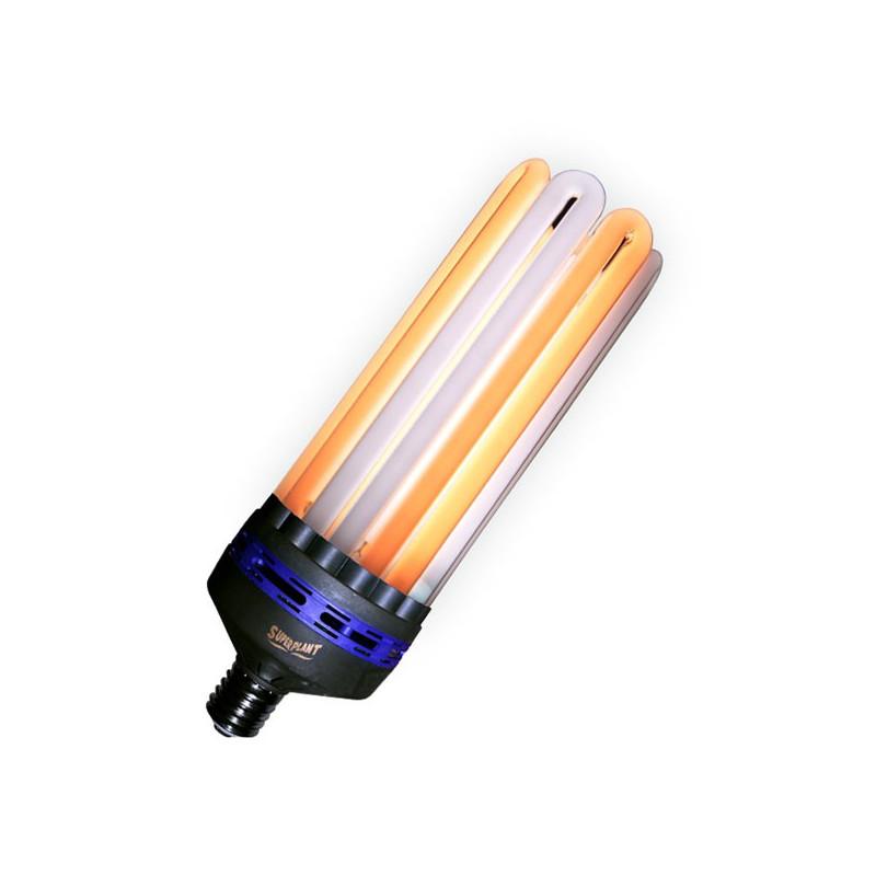 Superplant - Ampoule CFL 300W Dual/Mixte 2100K°+6400K° V2 , lampe croissance et floraison dual spectrum , E40