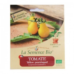 Graines bio - Tomate yellow pearshaped 20g graines biologique