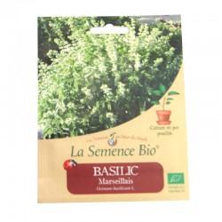 Graines bio - Basilic Marseillais 150gn graines biologique