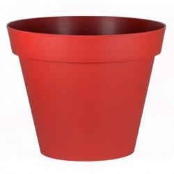 EDA Plastiques - Pot rond Toscane XXL 100x79.5cm 356L Rouge Rubis