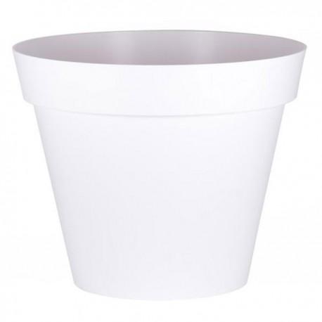 EDA Plastiques - Pot rond Toscane XXL 100x79.5cm 356L Blanc