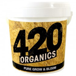 420 ORGANICS BIOPURE GROW AND BLOOM 1KG