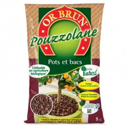 Or Brun - Pouzzolane 7-15mm 5L