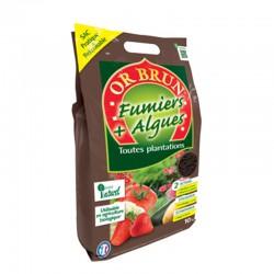 Or Brun - Fumier & Algues Bio Pratique 10Kg