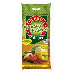Or Brun - Fertilisant Potager 5Kgs