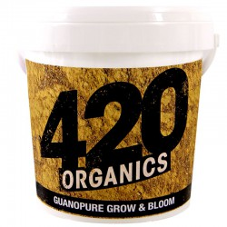 420 Organics - Guanopure Grow and Bloom 1Kg , engrais guano chauve souris