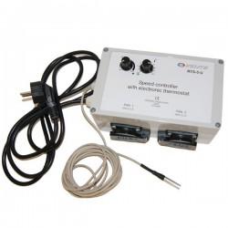 Thermostat Controler RTS-5-U - température&vitesse (pour 2 x 1.5A)