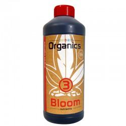 12345 Organics - N°3 Bloom - 1L , engrais floraison biologique ,culture en terre
