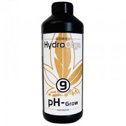 678910 HydroOrga - N°9 pH Grow - 1L , régulateur de ph , abaisse le ph de l'eau , concentré 53% , croissance