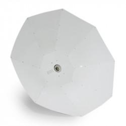 Superplant - Réflecteur Big Silverstar Parabolic vertical 1m2 , ,douille E40, pour hps ou mh 150 à 1000w et cfl