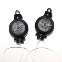 Easy Roller la paire (original Sacla) , fixation des lampes , éclairage suspension réglable