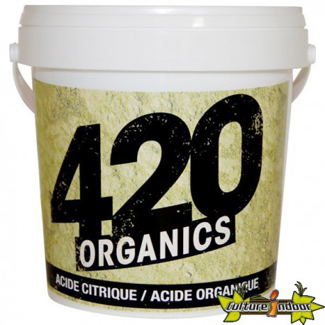 420 ORGANICS ACIDE CITRIQUE ORGANIQUE 100G