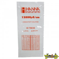 HANNA LE SACHET SOLUTION ETALONNAGE DE CONDUCTIVITE 12.88MS/CM